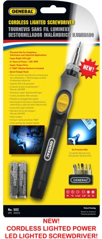 LED Power Screw Driver