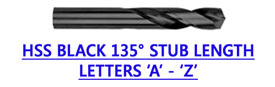 HSS BLACK 135� STUB LENGTH