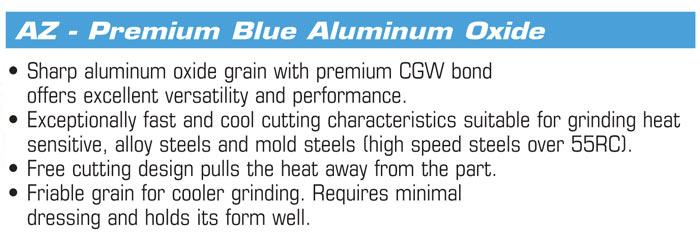 "6/"" x 1/"" X 1/"" 100 Grit Green Type 1 Grinding Wheel GC100-I-V CGW 35024//38509"