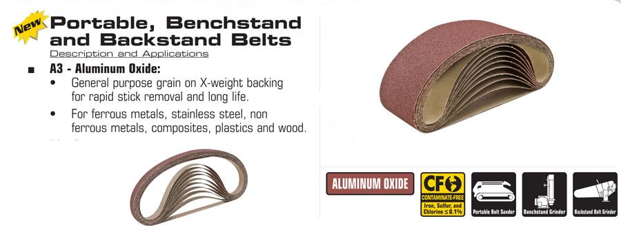 "6/"" x 48/"" Aluminum Oxide Sanding Belt 150 Grit XBacking USA 1pc CGW 61298"