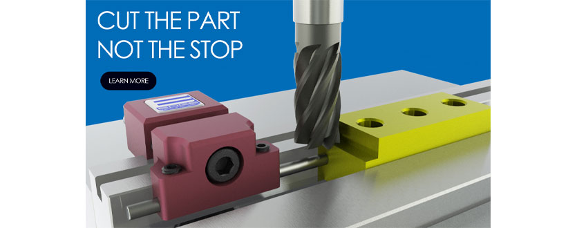 Vise Jaw Stop Mounts Directly to 1/2