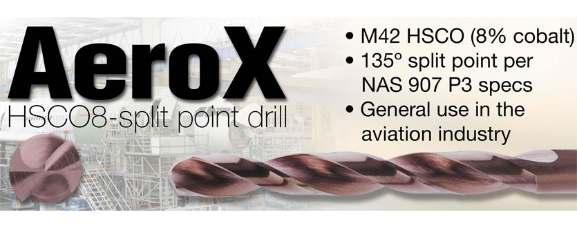 Guhring AeroX Cobalt Hi-Performance Drills for the Aviation Industry