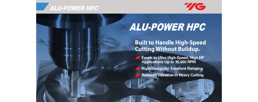 Alu-Power HPC Hi-Performance Carbide End Mills