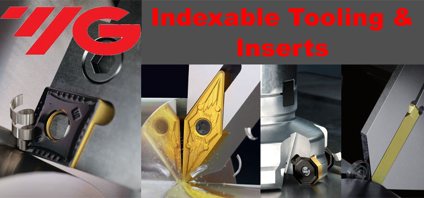 YG Indexable Tooling and Inserts